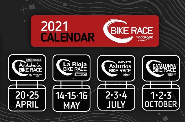 Presentamos el calendario Bike Race by Octagon Esedos para 2021